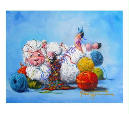 Knit Happens Knitting Art