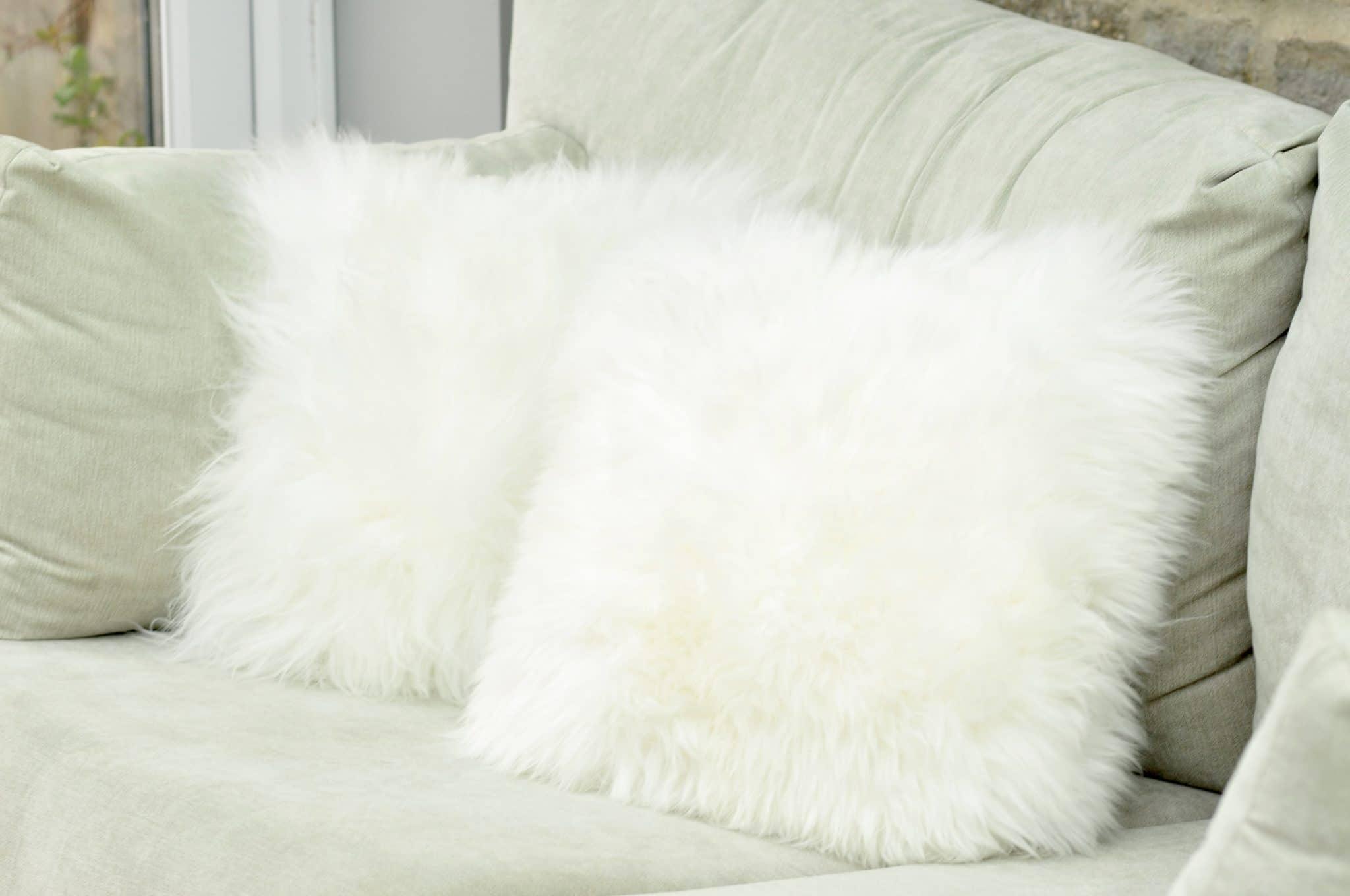sheepskin cushion cover sheepskin co uk