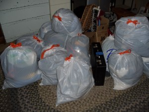 stuff that we successfully gave away