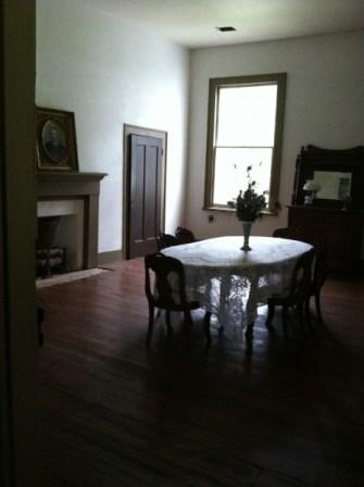 Haile Homestead dining room