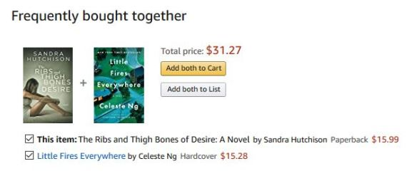 Selling along with Celeste Ng