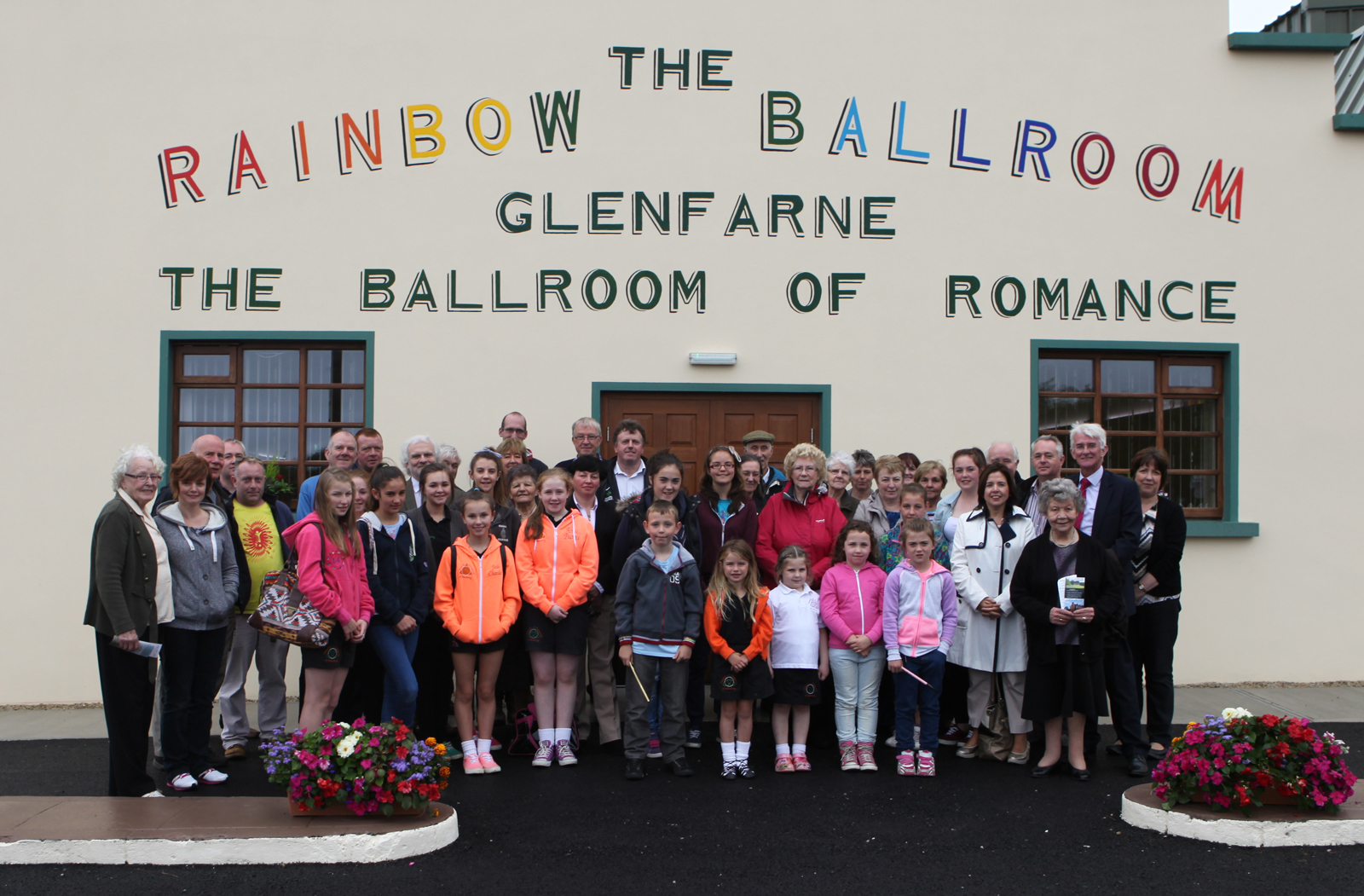 Glenfarne Pride of Place The Rainbow ballroom of Romance Glenfarne Co Leitrim