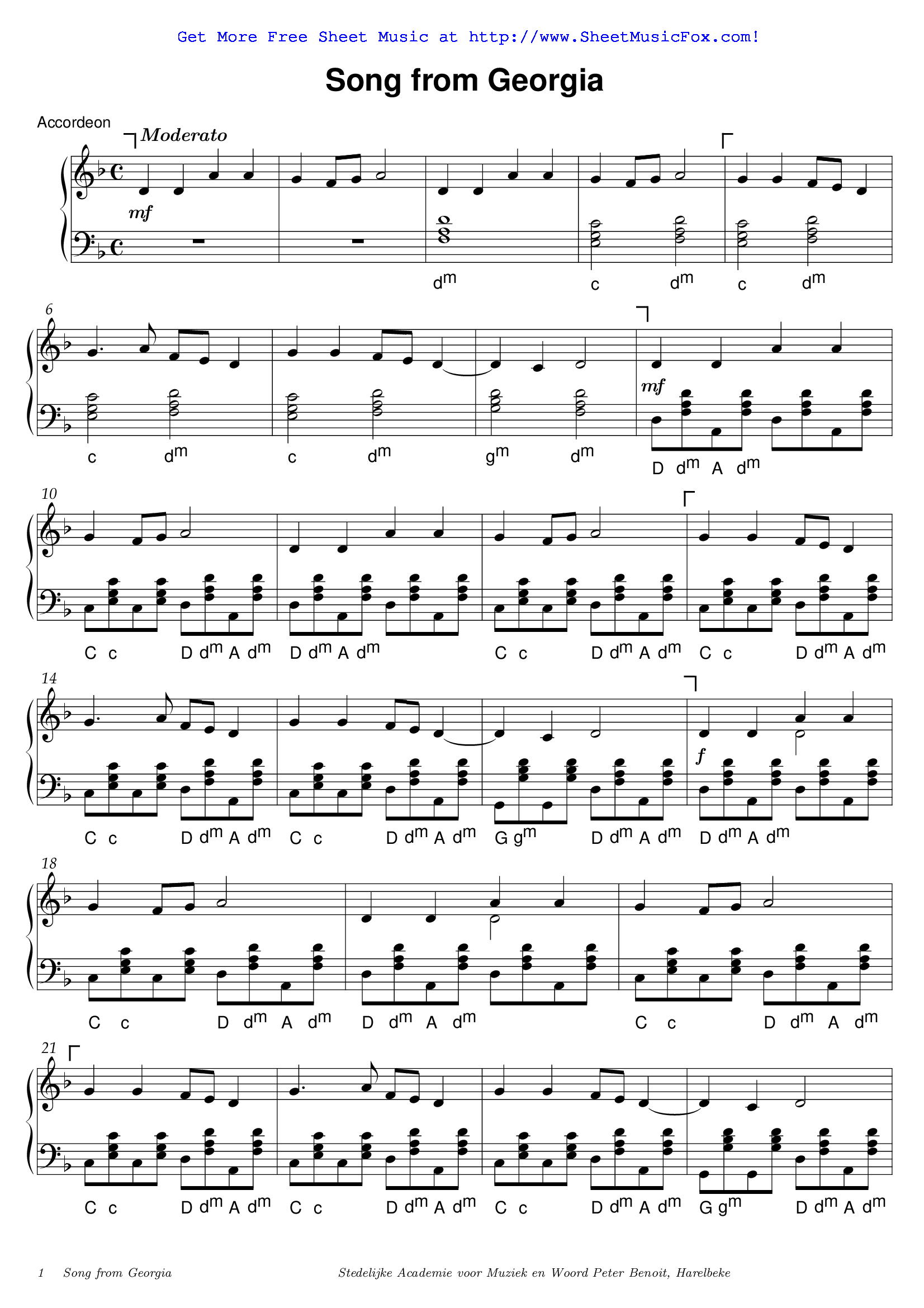 Free Fiddle Sheet Music For Devil Went Down To Georgia