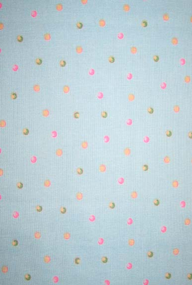 Cradle - Colorful Dots On Mint - Matching Comforter