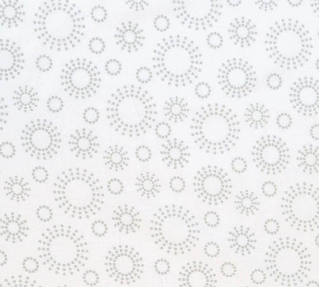 Grey Dot Circles