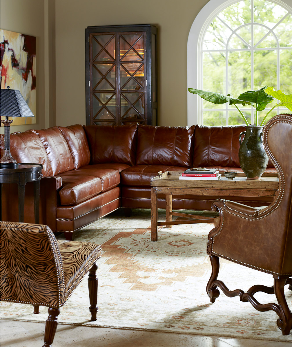 Room Furniture Living Leather