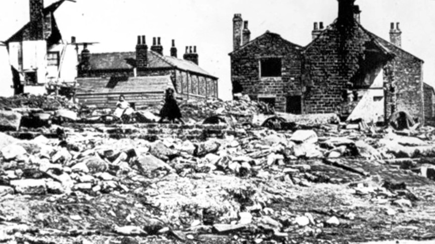 Aftermath of the Great Sheffield Flood