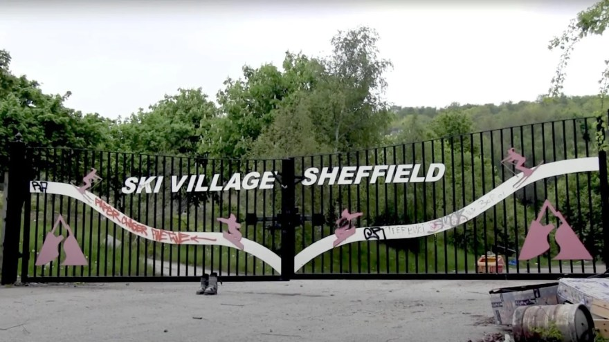 Gates at Sheffield Ski Village