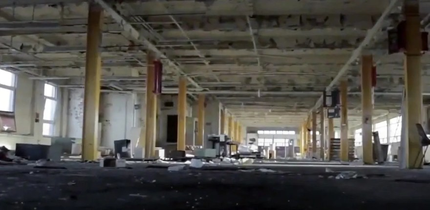 Inside Stanley Tools Factory, Rutland Road, Sheffield