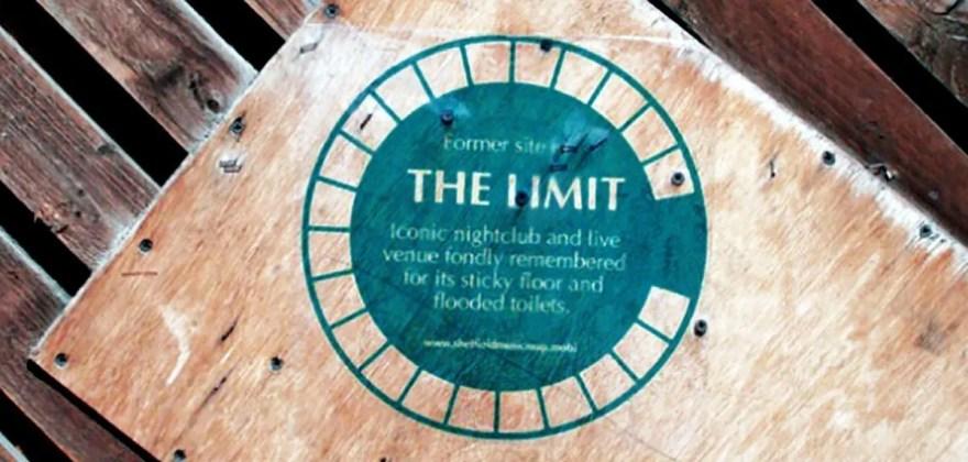 The Limit Plaque, Sheffield