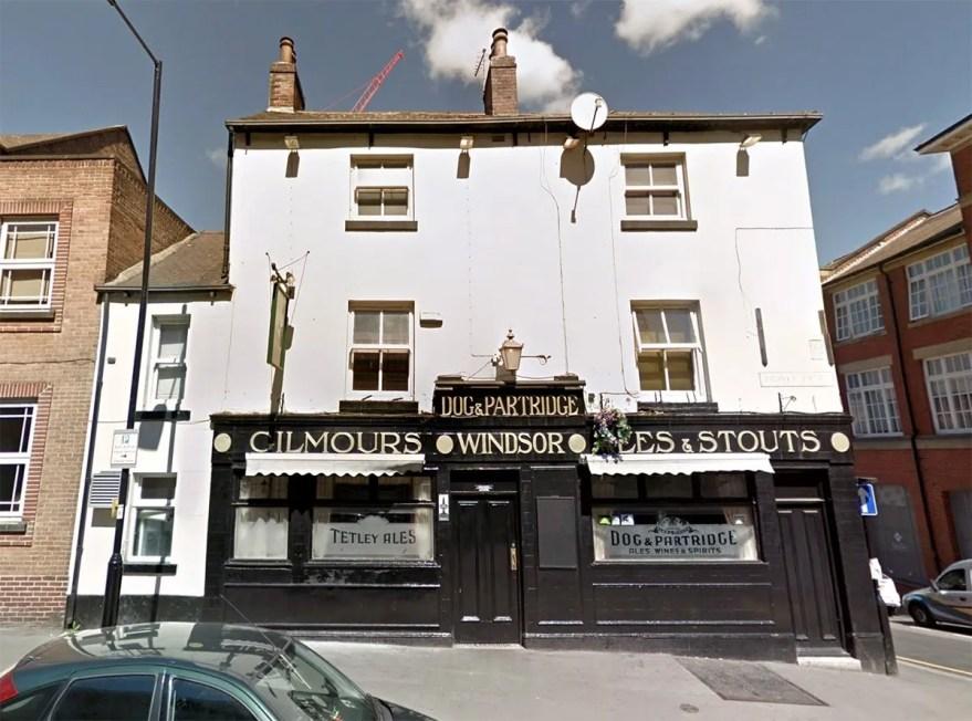 Dog & Partridge pub, Trippet Lane, Sheffield
