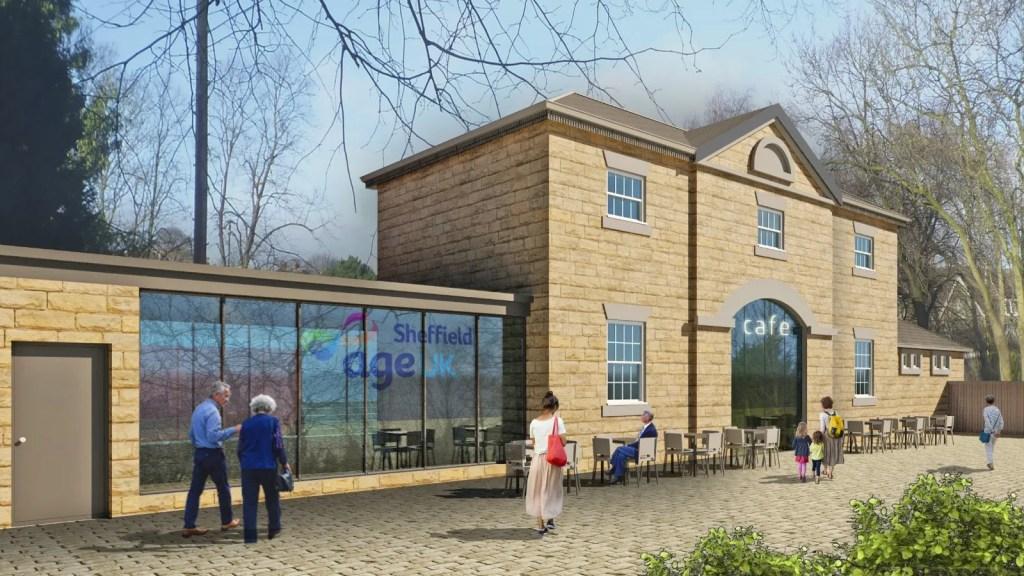 Hillsborough Park Old Coach House Cafe Plans
