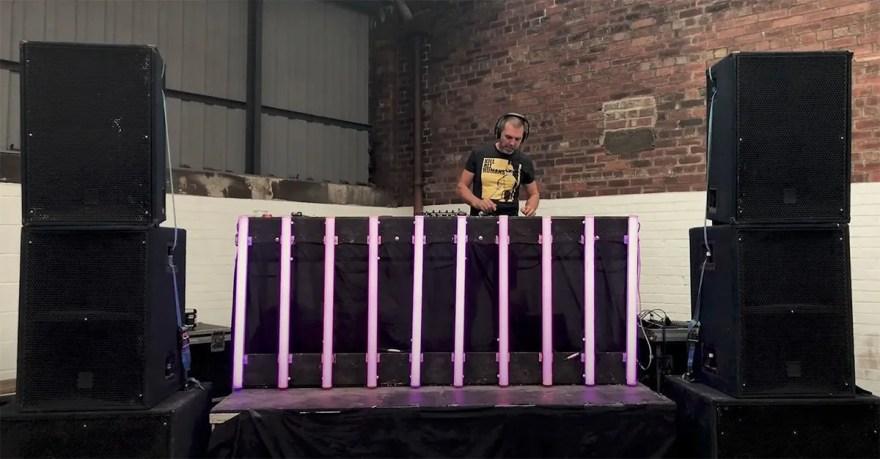 DJ at Peddler Market