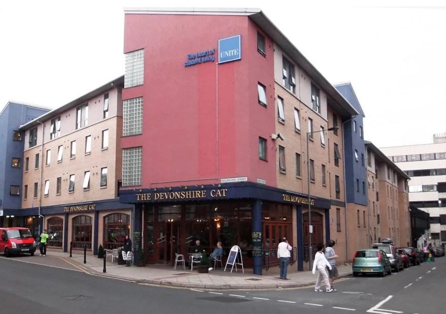 The Devonshire Cat Pub, Wellington Street
