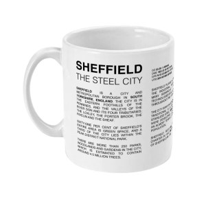 Sheffield Coordinates Alt 11oz Mug (White)