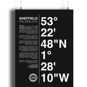 Sheffield Coordinates Lustre Art Print