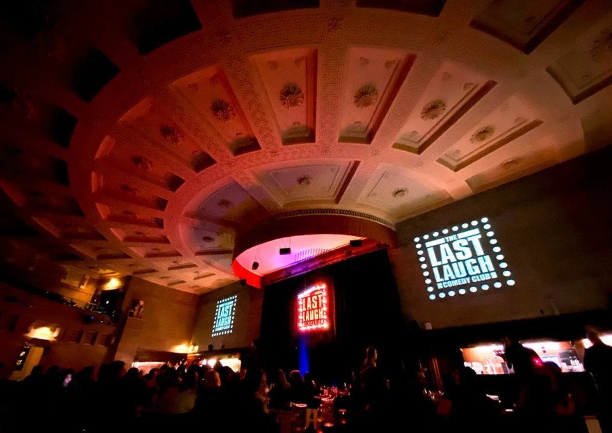 The Last Laugh Comedy Club in Sheffield City Hall's Memorial Hall
