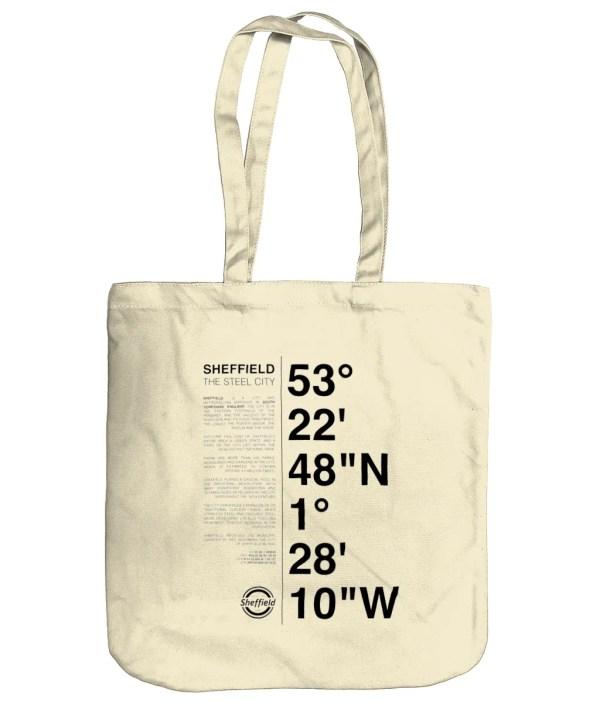 Sheffield Coordinates EarthAware Organic Spring Tote Bag (Natural)