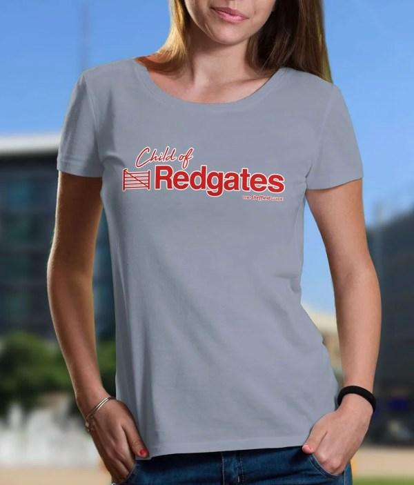 Child of Redgates Sheffield Women's T-Shirt, Sky Blue