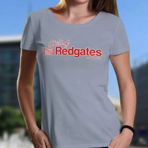 Child of Redgates Sheffield Women's T-Shirt, Sky Blue