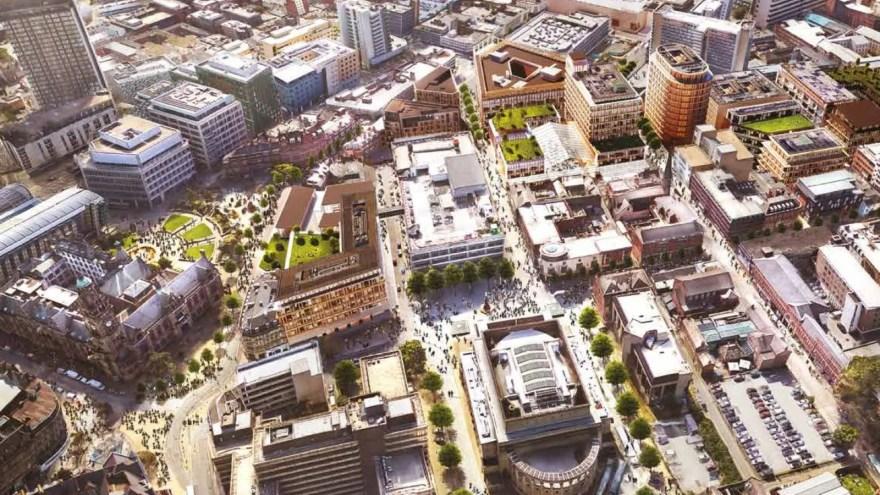Heart of the City II Masterplan