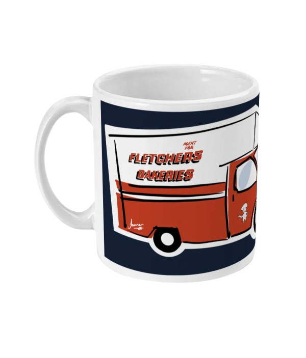 Fletchers Van Sheffield Mug