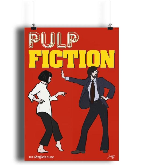 Pulp Fiction (Jarvis Cocker) Matte Art Print
