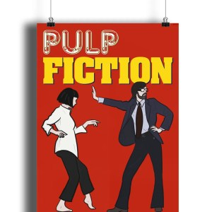 Pulp Fiction (Jarvis Cocker) Matte Art Print