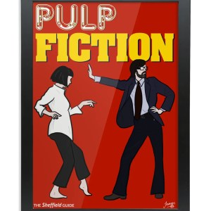 Pulp Fiction (Jarvis Cocker) Framed Art Print