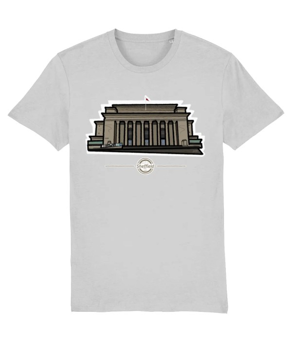 Sheffield City Hall T-Shirt, Heather Grey