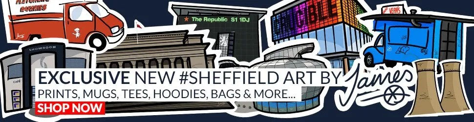 Sheffield Art by James, exclusive to The Sheffield Guide