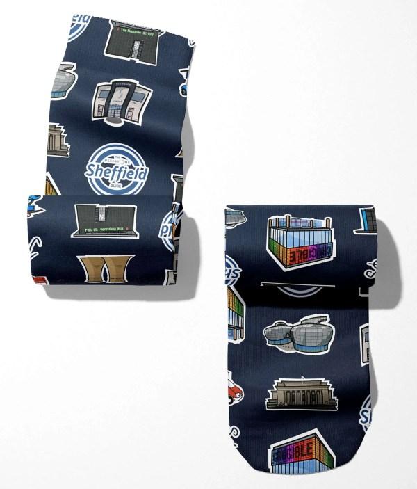Sheffield Icons Tube Socks (One Size)Sheffield Icons Tube Socks (One Size)Sheffield Icons Tube Socks (One Size)