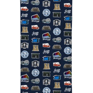 Sheffield Landmarks Beach Towel