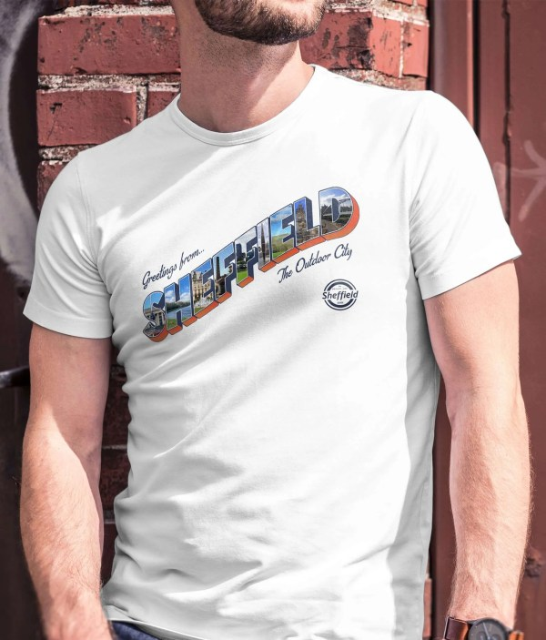 Sheffield: The Outdoor City T-Shirt (White)