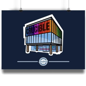 The Crucible Sheffield Art Print