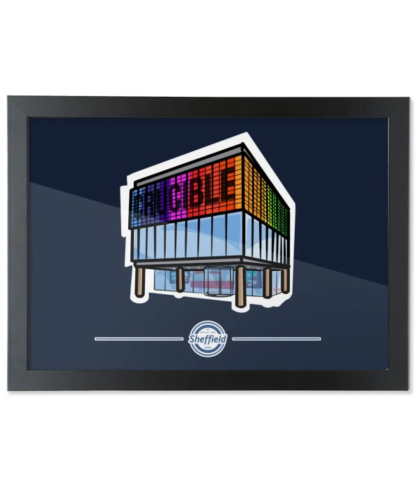 The Crucible Framed Art Print