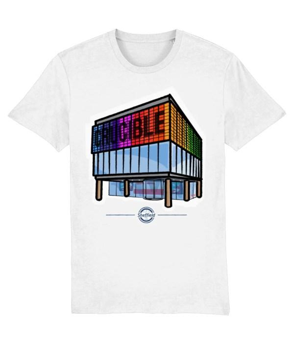 The Crucible Sheffield T-Shirt, White
