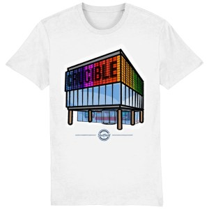 The Crucible Sheffield T-Shirt, White