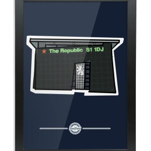 The Republic Framed Print