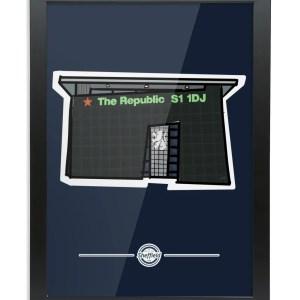 The Republic Framed Print