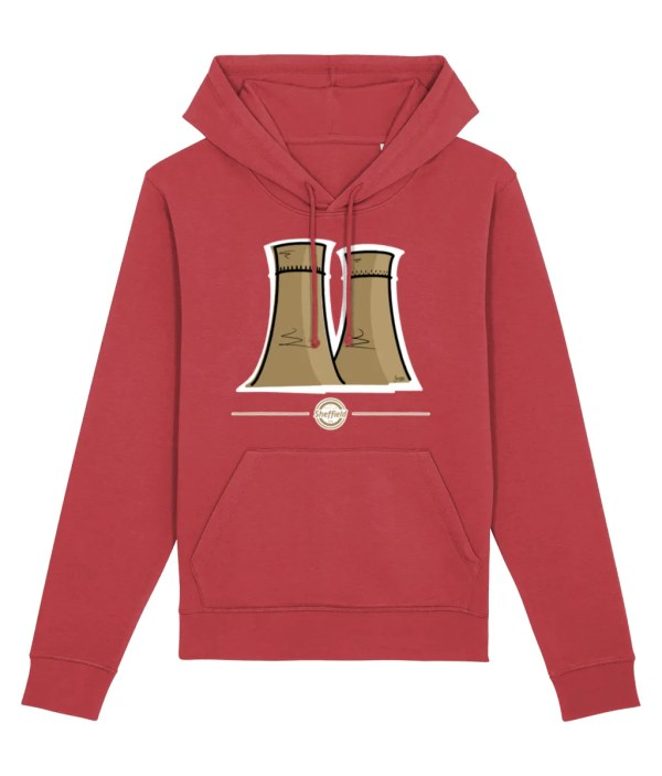 Tinsley Towers Hoodie Red
