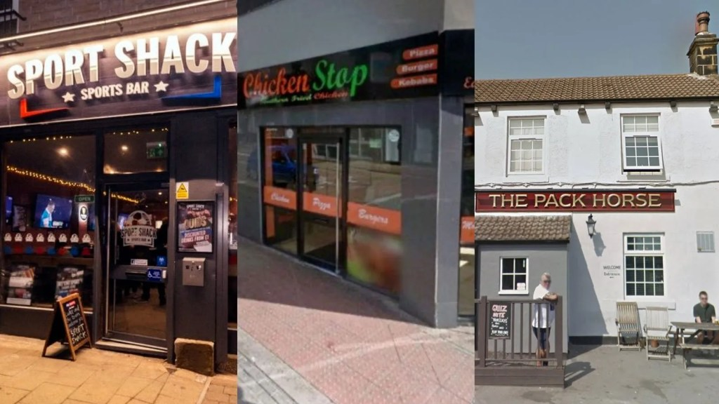 Five businesses have been subjected to COVID-19 Closures