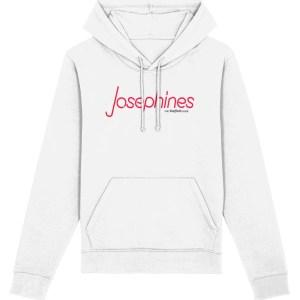 Josephines Sheffield (Neon) Hoodie, White