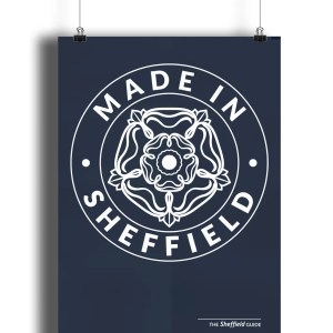 Made in Sheffield Art Print