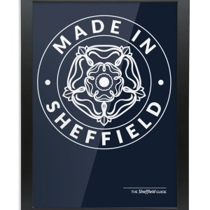 Made in Sheffield Framed Art Print
