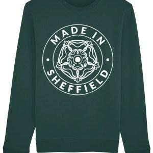 Made in Sheffield Sweatshirt, Glazed Green