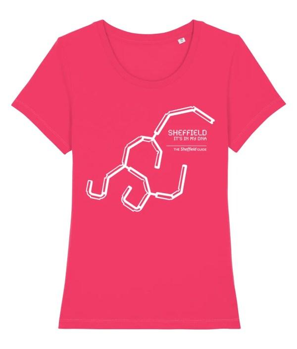 Sheffield DNA (Park Hill) Women's T-Shirt, Raspberry