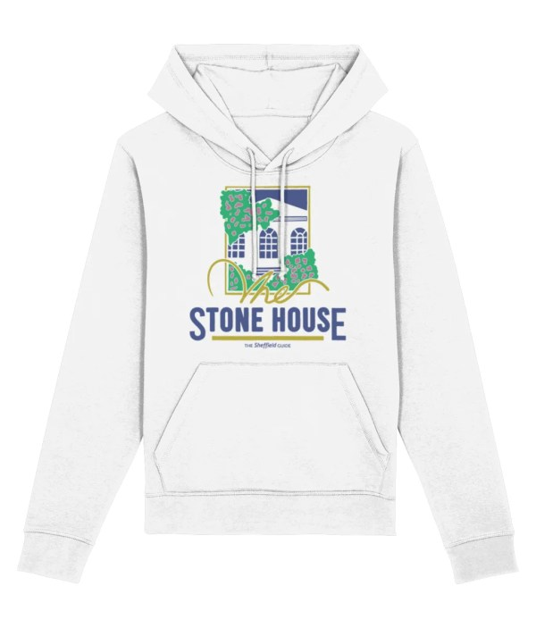 The Stone House Sheffield Hoodie, White