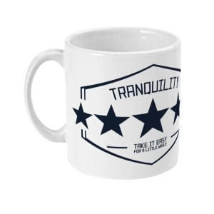 Tranquility: Four Out of Five (Arctic Monkeys) Mug