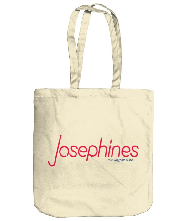 Josephines Sheffield (Neon) Organic Tote Bag, Natural